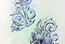 Tattoo/ drawings / by Mandy Pemberton