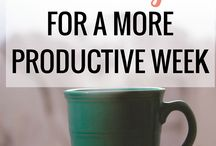 Tips to be productive