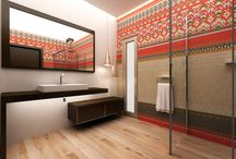 Łazienka w stylu etno