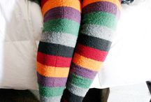 Knitted Socks / by Paula Zent