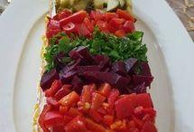 Meze ve salatalar