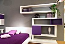 Basement bedroom / by Jennifer Falk