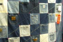 denim quilt to my son 17 years