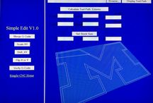 Simple DXF 2 g-code / Convert DXF files to g-code.  View, scale, and mirror.