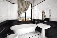 Интерьер 1-комнатной квартиры в районе Горпарка / Цель: разработка проекта стильного, современного интерьера 1-комнатной квартиры в районе Горпарка, для молодой семьи из 2-х человек.  Требования:  - интерьер должен быть выполнен в классическом стиле, с элементами ар-деко; - необходимо сочетать эстетичность дизайна интерьера с функциональностью; - интерьер должен быть выполнен в контрастных цветах.