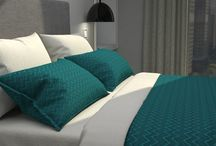 Teal (Beddings)