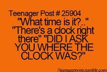 teenage posts!