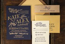 Invitations / Wedding Invitations / by Aisle Perfect - Wedding Blog