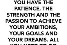 Motivation & Inspiration / Pins to get your gears going and mind spinning!