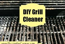 cleaning bbq
