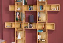 Ordnung ist das halbe Leben / #Möbel - Ideen, die helfen Platz im #Kinderzimmer zu schaffen