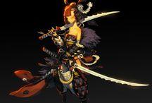 Samurai - Female - Anime