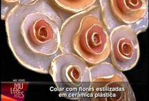 Fleurs en argile polymère