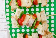 Lunch ideas / by Kelly Valeriano Brandt