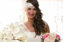 Peinados de novias y acompañantes