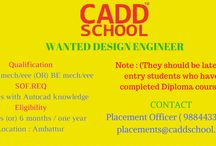 Diploma MECH / EEE (OR)  BE MECH / EEE Interesting Candidates can Apply This Job.