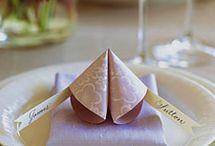 Table settings / by Elizabeth Hazen