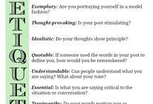 _ NETiquette / + manners matter