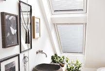 Delikate bad / Skap en hyggelig atmosfære på badet med naturlig dagslys og frisk luft.