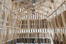 Konstrukcje z drewna Architektura