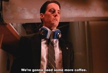 Preparation for Agent Cooper cosplay at Twin Peaks fan fest