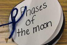 Διάστημα, Φεγγάρι - Space and planets