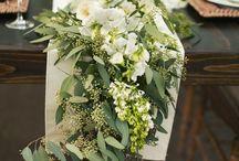 black olive white wedding