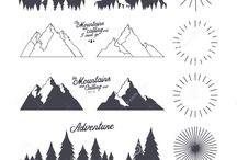Grafika hory