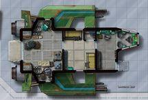 scifi maps