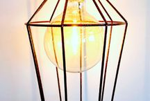Cage Lights / Industrial cage lights originally inspired by the steel wired lamps on construction sites and historical maritime lamps of yesteryear, now encompass contemporary and traditional lamp design classics. All Cages are hand made by Iberian Lightning in the UK