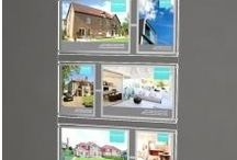Estate Agent Supplies / Estate Agent Window and Wall and Standing Displays