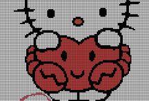 Borduurpatronen Hello Kitty