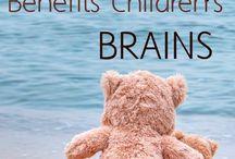 Cuddling for kids brains