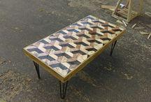 coffe table 3d pallet #jatibelanda #jatibelandapadang #pallet #palletdiy