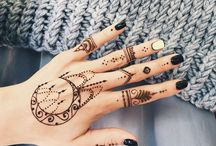 Henna designs- Boho to Traditional / All photos for inspiration purpose.