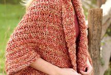 Crochet - shurgs, cardigans etc.