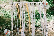 Natural romantic wedding