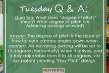 Tuesday Q&A / Frequently Asked Advaning Questions