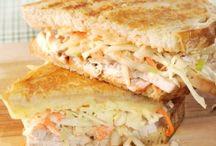 Sandwiches/Burgers/Wraps / by 💗Meggers💗
