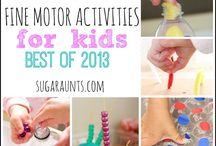 Fine Motor Activities for Kids / Fine Motor Skill Building for Kids with Neurobehavioral Disorders of Childhood to help with Handwriting and Fine Motor Manipulation