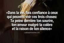 """Quotes /citations / Des pensées interressantes qui nous font avancer...../some words that make us think more.""""..."""