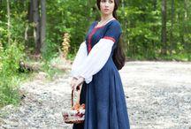 medieval costumes / medieval costume, medieval garb, sca costume, LARP costume