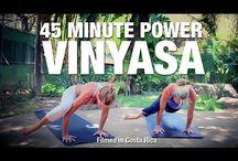 Free yoga classes / 45min vinyasa flow
