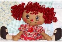 izzie doll / by IRIS STRICKLAND