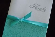 Papercraft Cards Bling, Embossing  / by Rochelle G