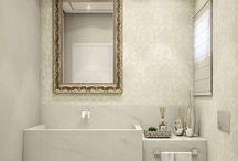 Banheiro romântico / Flores, candy colors e acessórios provençais são referências que podem ser incluídas em um banheiro romântico para expressar toda a delicadeza e sutilidade de seus moradores.