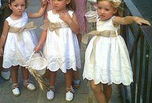 Diseño vestido niñas arras