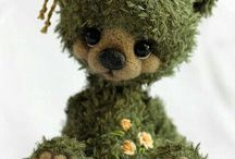 Dolls. Handmade Little Animals and Cute Creatures
