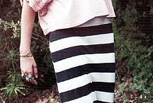 - Maxi skirts -