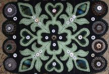 Felt quilting, applique & embroidery